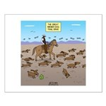 The Great Wiener Dog Trail Drive Small Poster