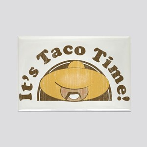 It's Taco Time! Rectangle Magnet