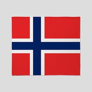 Flag: Norway Throw Blanket