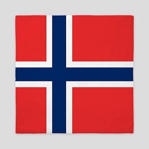 Flag: Norway Queen Duvet