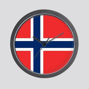 Flag: Norway Wall Clock