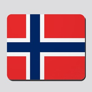 Flag: Norway Mousepad