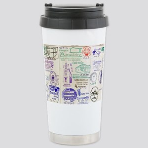 Camino De Santiago Stainless Steel Travel Mug