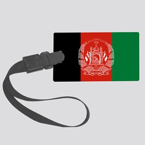 Flag: Afghanistan Large Luggage Tag