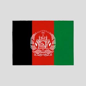 Flag: Afghanistan 5'x7'Area Rug