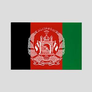 Flag: Afghanistan Rectangle Magnet