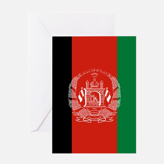 Flag: Afghanistan Greeting Card