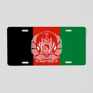 Flag: Afghanistan Aluminum License Plate