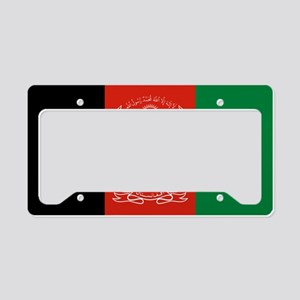 Flag: Afghanistan License Plate Holder