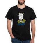 Kimono Cow Dark T-Shirt