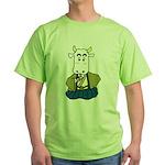 Kimono Cow Green T-Shirt