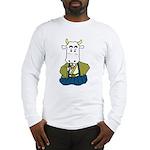 Kimono Cow Long Sleeve T-Shirt