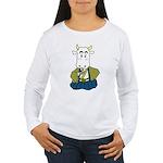 Kimono Cow Women's Long Sleeve T-Shirt