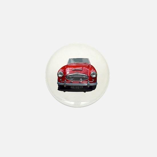 1961 Austin 3000 Mini Button