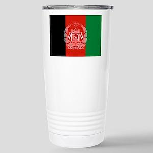 Flag: Afghanistan Travel Mug