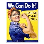 Sarah Palin We Can Do It Small Poster