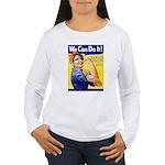 Sarah Palin We Can Do It Women's Long Sleeve T-Shi
