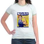 Sarah Palin We Can Do It Jr. Ringer T-Shirt