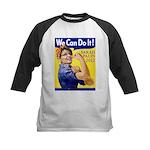 Sarah Palin We Can Do It Kids Baseball Jersey