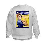 Sarah Palin We Can Do It Kids Sweatshirt