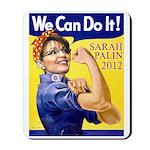 Sarah Palin We Can Do It Mousepad