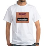 PSDB FUGGIT stuff White T-Shirt