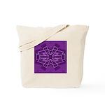 Asterisk (purple) Tote Bag