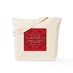 Asterisk (red) Tote Bag