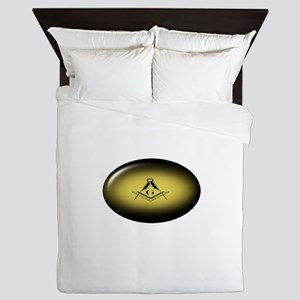 Masonic Light Queen Duvet