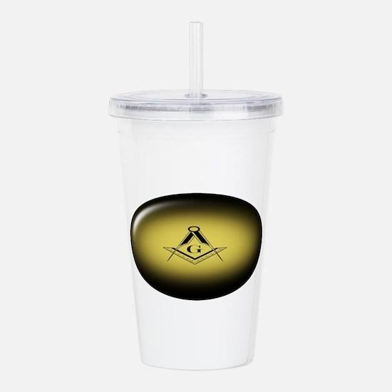 Masonic Light Acrylic Double-wall Tumbler