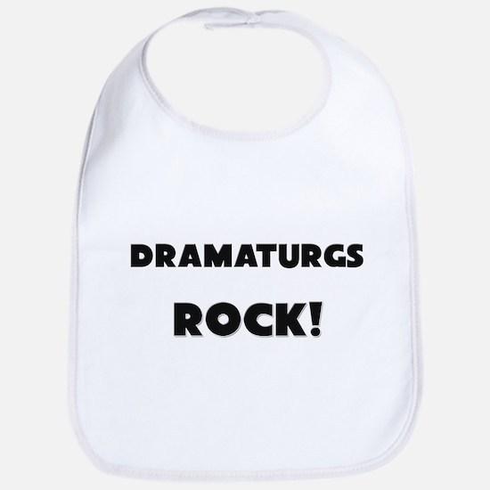 Dramaturgs ROCK Bib