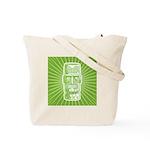 Tiki (green) Tote Bag