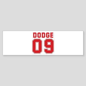 DODGE 09 Bumper Sticker