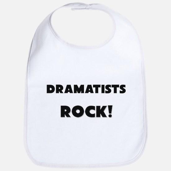 Dramatists ROCK Bib