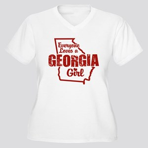 Georgia Girl Women's Plus Size V-Neck T-Shirt