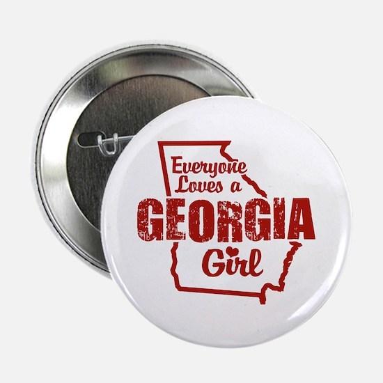 """Georgia Girl 2.25"""" Button"""