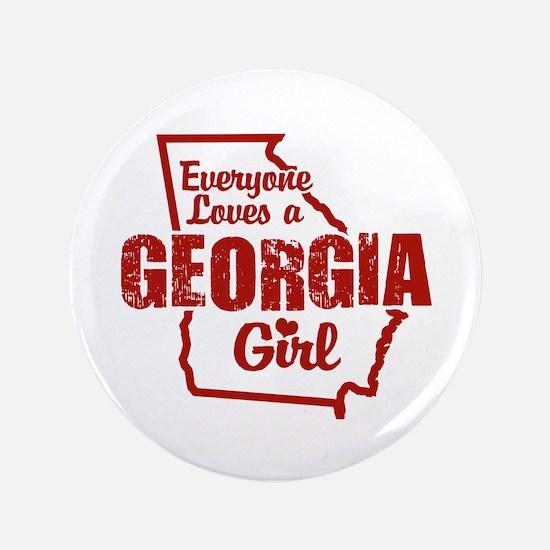 """Georgia Girl 3.5"""" Button"""