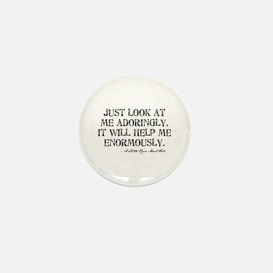Adoringly Mini Button