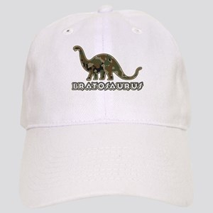 Brat Kid Camo Dinosaur Cap