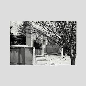 President Buchanan Memorial Rectangle Magnet