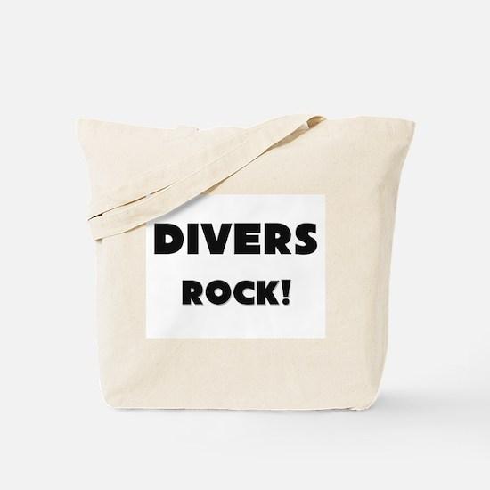 Divers ROCK Tote Bag