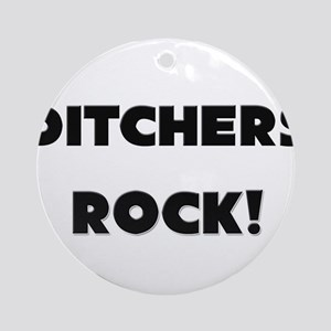 Ditchers ROCK Ornament (Round)