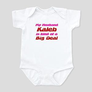 My Husband Kaleb - Big Deal Infant Bodysuit