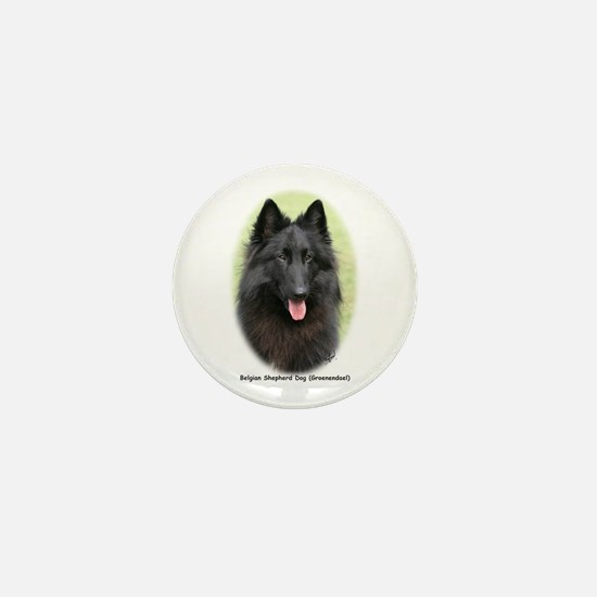 Belgian Shepherd (Groenendael) Mini Button