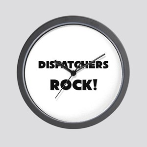 Dispatchers ROCK Wall Clock