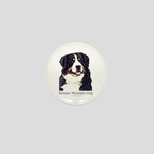 <B>New</B> Bernese Mountain Dog Mini Button