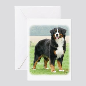 Bernese Mountain Dog 9Y066D-133 Greeting Card