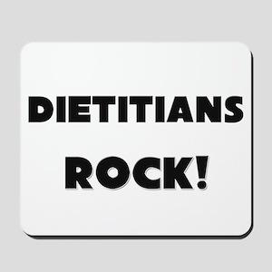 Dietitians ROCK Mousepad