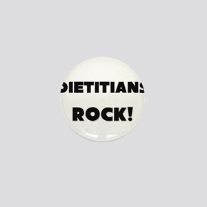 Dietitians ROCK Mini Button