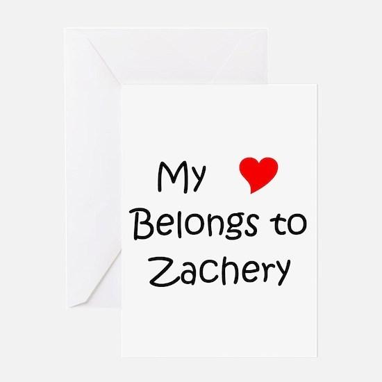 Funny Zachery Greeting Card